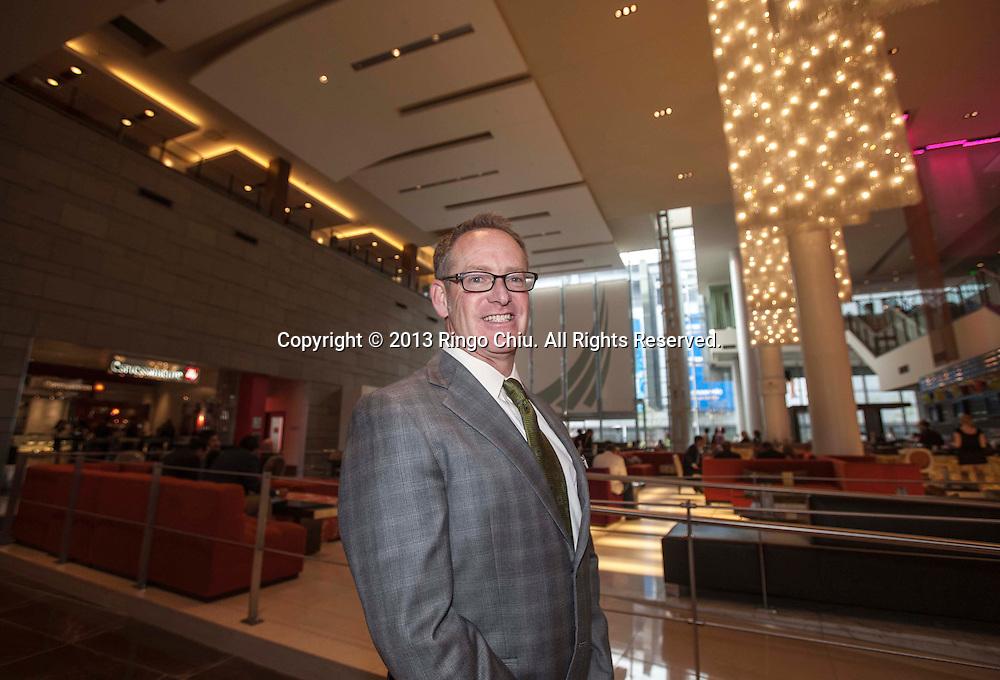 Bill Buckley, director of sales and marketing for JW Marriott Los Angeles LA Live. (Photo by Ringo Chiu/PHOTOFORMULA.com)