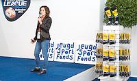 Rotterdam - KNHB Macha van der Vaart  voor het Jeugd Sport Fonds tijdens de Rabobank World Hockey League. Foto KOEN SUYK