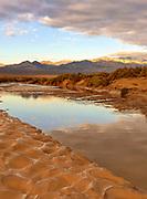 The Amargosa River, Death Valley National Park, California