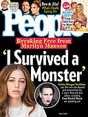May 05, 2021 - US: Ashley Morgan Smithline Covers People Magazine
