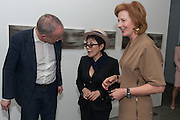 HANS ULRICH-OBRIST; YOKO ONO; JULIA PEYTON-JONES, Yoko Ono.- to the Light. Serpentine Gallery. London. 19 June 2012.