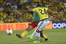 June 13, 2017 - Getafe, Spain - José Iaquierdo of Colombia during  match played at the Coliseum Stadium Alfonso Perez, Getafe, Tuesday June 13, 2017. (Credit Image: © Luis Salgado/NurPhoto via ZUMA Press)
