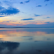 """""""The Touch of Glass""""<br /> <br /> Smooth as glass sunset!!<br /> <br /> Sunset Images by Rachel Cohen"""
