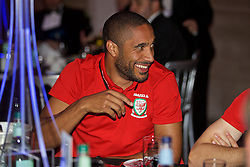 CARDIFF, WALES - Wednesday, August 31, 2016: Wales' captain Ashley Williams during a gala dinner at the Cardiff Museum to launch the UEFA Champions League Finals 2017 to be held in Cardiff. (Pic by David Rawcliffe/Propaganda)