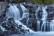 McDonald Creek Falls, Glacier National Park