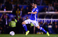 Maxime Colin of Birmingham city in action .EFL Skybet championship match, Birmingham city v Cardiff city at St.Andrew's stadium in Birmingham, the Midlands on Friday 13th October 2017.<br /> pic by Bradley Collyer, Andrew Orchard sports photography.