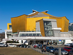 Klammerhall concert hall part of the Philharmonie concert halls home of the Berlin Philharmonic orchestra in Berlin Germany