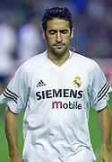 Photo Peter Spurrier<br /> 14/09/2002<br /> 2002 Real Betis vs Real Madrid  - Spanish Liga 1<br /> Raúl González BLANCO,  - Real Madrid