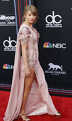 May 20, 2018 - Las Vegas, Nevada, United States of America - Singer Taylor Swift attends the 2018 Billboard  Magazine  Music  Awards on May 20, 2018 at MGM Grand Arena in Las Vegas, Nevada (Credit Image: © Marcel Thomas via ZUMA Wire)
