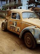 Fela Kuti's Car - Lagos - 1978