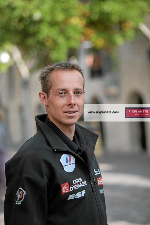 Emmanuel Jonnier - SKi de fond- présentation de l'équipe de France de ski 2007-2008 - Photos exclusives - 9/10/2007 - JSB / PixPlanete