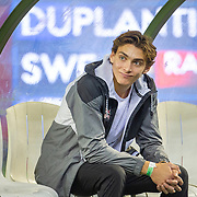 BRUSSELS, BELGIUM:  September 3:   Armand Duplantis  of Sweden during the pole vault competition at the Wanda Diamond League 2021 Memorial Van Damme Athletics competition at King Baudouin Stadium on September 3, 2021 in  Brussels, Belgium. (Photo by Tim Clayton/Corbis via Getty Images)