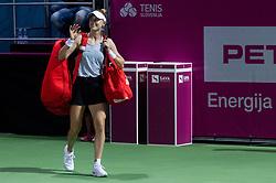 PORTOROZ, SLOVENIA - SEPTEMBER 19: Alison Riske of USA at Singles final during the WTA 250 Zavarovalnica Sava Portoroz at SRC Marina, on September 19, 2021 in Portoroz / Portorose, Slovenia. Photo by Vid Ponikvar / Sportida