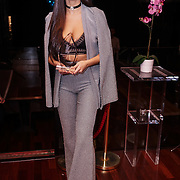 Brook Wright winner of the Supermodel UK glamour Model of the Year 2016 at DSTRKT on 23rd November 2016 in London,UK. Photo by See Li