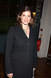 The HON.SELINA TOLLEMACHE at a party to celebrate the publication of 'E is for Eating' by Tom Parker Bowles held at Kensington Place, 201 Kensington Church Street, London W8 on 3rd November 2004.<br /><br />NON EXCLUSIVE - WORLD RIGHTS