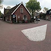 Hoek Zeeweg - Oranje Weeshuisstraat in de richting van de Havenstraat