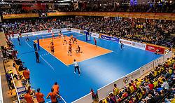 19-02-2017 NED: Bekerfinale Draisma Dynamo - Seesing Personeel Orion, Zwolle<br /> In een uitverkochte Landstede Topsporthal wint Orion met 3-1 de bekerfinale van Dynamo / sfeer publiek