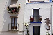Peniscola, Spain, between Valencia and Barcelona.