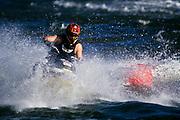Jet skier in action.
