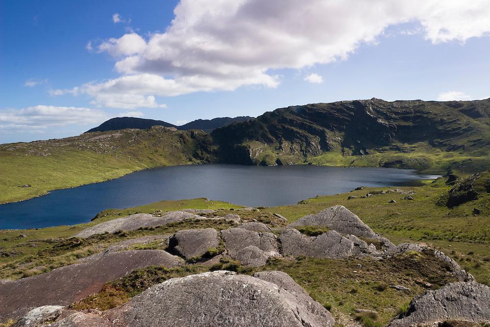 Mountain lake in County Cork, Ireland
