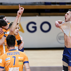 20210322: SLO, Volleyball - 1. DOL Semifinals, ACH Volley Ljubljana vs Calcit Kamnik