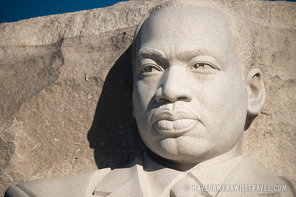 Opened in 2011, the Martin Luther King, Jr. Memorial commemorates the Civil Rights leader and the Civil Rights movement. It stands on the banks of the Tidal Basin in Washington DC. Its centerpiece is a large statue of Dr. King that was carved by Lei Yixin.