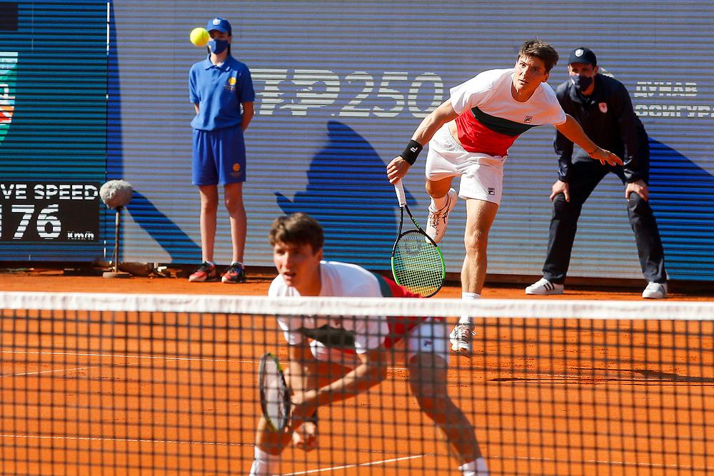 Tennis-ATP Serbia Open Belgrade 2021- doubles final<br /> Ariel Behar (URU)-Gonzalo Escobar (ECU) v Ivan Sabanov (CRO)-Matej Sabanov (CRO)<br /> Beograd, 24.04.2021.foto: Marko Djokovic/Starsportphoto ©