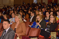 Yale SOM Education Leadership Conference. Friday Morning Keynote Speakers, Providence, RI Mayor Angel Taveras and Louisiana State Superintendent John White. 5 April 2013. Audience.