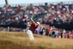 Northern Ireland's Rory McIlroy plays from the rough on the 5th during day three of The Open Championship 2018 at Carnoustie Golf Links, Angus.