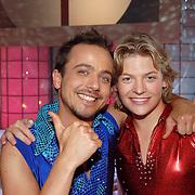 NLD/Hilversum/20070309 - 9e Live uitzending SBS Sterrendansen op het IJs 2007, Geert Hoes en Thomas Berge