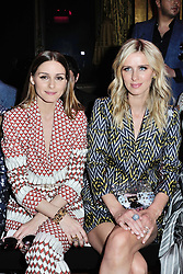 Olivia Palermo and Nicky Hilton Rothschild attending the Schiaparelli Haute Couture Paris Fashion Week Fall/Winter 2018/19 held at Opera Garnier in Paris, France on july 02, 2018. Photo by Aurore Marechal/ABACAPRESS.COM