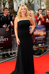 Kate Winslet attends the European premiere of 'Divergent' , Odeon, London, United Kingdom. Sunday, 30th March 2014. Picture by Chris Joseph / i-Images