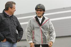 De Smet Stefaan (BEL) and Luc Tilleman<br /> SBB Competitie Jonge Paarden - Nationaal Kampioenschap - Kieldrecht 2014<br /> © Dirk Caremans
