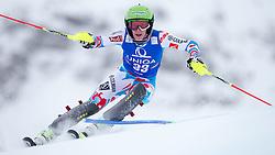 29.12.2014, Hohe Mut, Kühtai, AUT, FIS Ski Weltcup, Kühtai, Slalom, Damen, 1. Durchgang, im Bild Taina Barioz (FRA) // Taina Barioz of France in action during 1st run of Ladies Slalom of the Kuehtai FIS Ski Alpine World Cup at the Hohe Mut Course in Kuehtai, Austria on 2014/12/29. EXPA Pictures © 2014, PhotoCredit: EXPA/ JFK