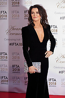 Deirdre O'Kane, host  at the IFTA Film & Drama Awards (The Irish Film & Television Academy) at the Mansion House in Dublin, Ireland, Thursday 15th February 2018. Photographer: Doreen Kennedy