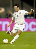 Photo: Richard Lane.<br />Croatia v England. UEFA European Championships 2008 Qualifying. 11/10/2006. <br />England's Frank Lampard on his 50th cap.