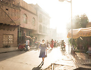 Streets of ancient Kashgar.