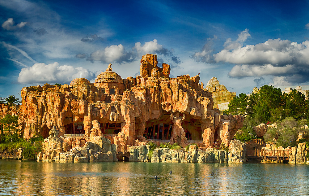 The Lost Continent at Island of Adventure in Orlando, Florida