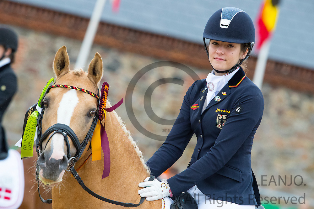 Tabea Schroer - Danilo<br /> FEI European Championships Ponies 2016<br /> © DigiShots