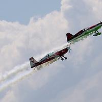 Grand Aero Challenge acrobatic flying competition held over lake Balaton in Balatonfured, Hungary. Wednesday, 01. July 2009. ATTILA VOLGYI