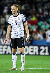 LJUBLJANA, SLOVENIA - JUNE 06: Amos Pieper of Germany during the 2021 UEFA European Under-21 Championship Final match between Germany and Portugal at Stadion Stozice on June 06, 2021 in Ljubljana, Slovenia. Photo by Grega Valancic / Sportida
