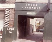 Old amateur photos of Dublin streets churches, cars, lanes, roads, shops schools, hospitals, Blessington court, goods entrance