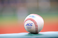 21 February 2015: An official ACC and NCAA baseball. The Iona College Gaels played the University of Hartford Hawks in an NCAA Division I Men's baseball game at Jack Coombs Field in Durham, North Carolina as part of the Duke Baseball Classic. Hartford won the game 12-1.