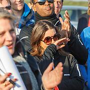 NLD/Biddinghuizen/20150308 - De Hollandse 100 by Lymph & Co, Patrick Kluivert en emotionele partner Rosanna Lima