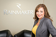 Carmela Wong, Vice President of Marketing of Rainmaker Systems, Inc., poses for a portrait at the Rainmaker Systems, Inc. campus in Campbell, California, on April 25, 2013. (Stan Olszewski/SOSKIphoto)