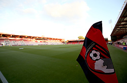 A general view of the pitch ahead of the match at the Vitality Stadium