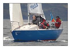 The Brewin Dolphin Scottish Series, Tarbert Loch Fyne...GBR821N So Dalgety Bay SC Higgins / McLure / Hutchin.