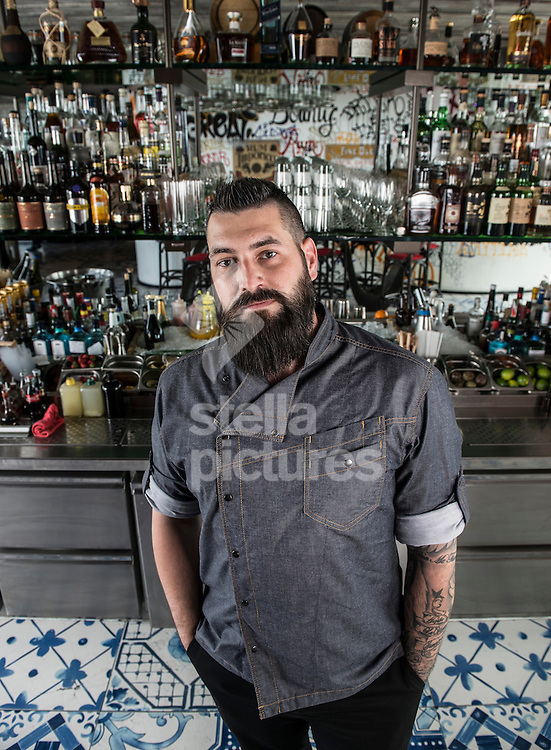 Head of Spirit & Cocktail Development at Duck & Waffle, Richard Woods.<br /> Picture by Daniel Hambury/Stella Pictures Ltd +44 7813 022858<br /> 25/06/2015