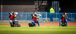 Edinburgh City 1 v 1 Brora Rangers, 1st leg, Pyramid Playoffs at Meadowbank, 25/4/2015.