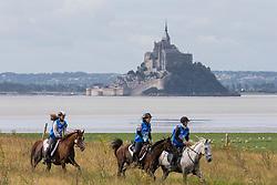 Helga Wunderer, (AUT), Ariella 2, Mikiyo Yamazaki, Fausto BL<br /> Alltech FEI World Equestrian Games™ 2014 - Normandy, France.<br /> © Hippo Foto Team - Leanjo de Koster<br /> 25/06/14